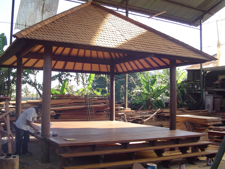Producer Of High Quality Wooden House Gazebo Furniture